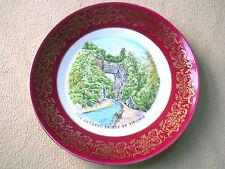 Vintage Jessup Bavaria Germany plate / The Natural Bridge of Virginia / VA