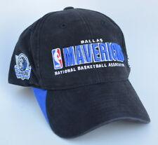 NBA DALLAS MAVERICKS One Size Fits All Strapback Reebok Baseball Cap Hat