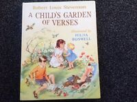 "Hilda Boswell ""A Child's Garden of Verses"" vintage 1963 Hardcover R L Stevenson"