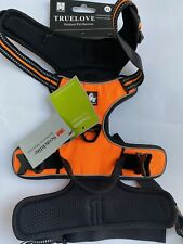 Truelove Outdoor Padded Dog Harness Reflective Scotchlite Size XL Orange No Pull