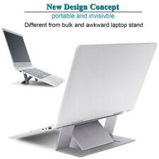 Grey Adjustable Invisible Portable Folding Laptop Stand for MacBook Pro/Air