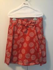 Red Valentino Bow Skirt NWT