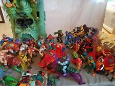 Original 1980s He-Man MOTU Action Figure Lot  & Extras Instant Collection!