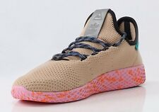 Adidas Tennis Hu Pharell Williams Sneaker Size 10 Tan/Pink Colorway
