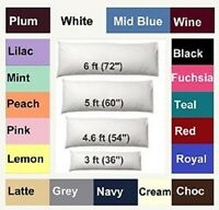 NEW BOLSTER PREGNANCY MATERNITY ORTHOPAEDIC BODY SUPPORT PILLOW CASE COVER