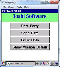 JSCStoreR Software for IGA Store for  MC70/MC7094/MC75/MC75A6/MC67/MC65 Computer