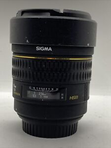 O294 SIGMA EX 14mm F2.8 ASPHERICAL HSM  - CANON - Great Lens