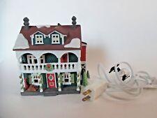 "Dept 56 New England Village Lighted Bldg 59471 ""Captain's Cottage"" 1990 Gcib"