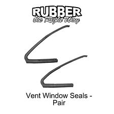 1961 1962 1963 Ford Thunderbird Vent Window Seals Pair