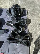 Century Karate Martial Arts Equipment Complete Set Sparring Gear Black Lg adult
