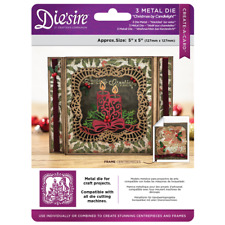 Crafters Companion DIESIRE Christmas Create a Card Die CHRISTMAS by CANDLELIGHT
