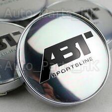 4  Cache Jante moyeux Centre roue Audi A3 A4 RS4 RS6 A5 A6 A8 TT Tuning ABT 60mm