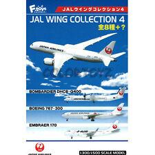 1/500 JAL Wing Boeing 777-200 + 777-200 (one-world) Model Kit F-Toys #2+Secret