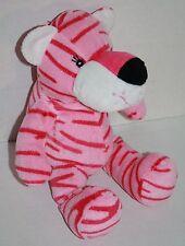 """Fiesta Blanket Babies TIGER 11"""" Pink Baby Sewn Eye Plush Stuffed Animal Soft Toy"""