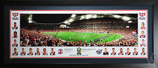 SYDNEY ROOSTERS PREMIERS 2013 PRINT PHOTO POSTER FRAMED STADIUM SHOT LARGE