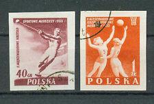 Polonia sellos 1955 juventud-sport firmemente juegos mi.nr.936+937