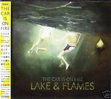 The Car Is On Fire - Lake & Flames Japan CD+1+VIDEO NEW