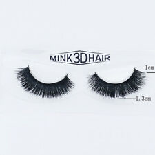 3Pair Natural Eye Lashes Makeup Handmade Thick Fake Cross False Eyelashes Makeup