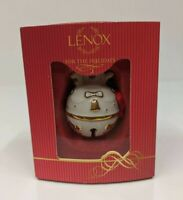 Lenox Just Jingles Joy Bell Ornament American By Design Holiday Collectable