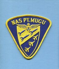 NAS NAVAL AIR STATION PT POINT MUGU CA US Navy Base Squadron Jacket Patch