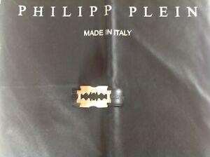 Philipp Plein Gürtel 105 cm goldene Schnalle