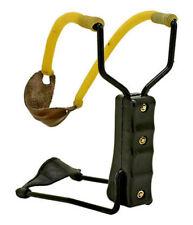 Folding Slingshot High Velocity Wrist Catapult Powerful Hunting Sling Shot NEW