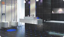 Tiles LED 3mm Blue Joint Light Lighting Fugenlicht Cross Fliesenlicht Bath