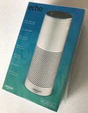 Brand New / Factory Sealed White Amazon Echo Alexa - Ships FAST + FREE !!!!!!!!!