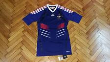 France Soccer Jersey Football Adidas Player Issue Shirt Maglia Trikot HM Techfit