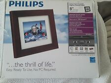 """Philips SPF3480/G7 8"""" Digital Picture Frame -open box"""