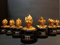 Dragon Ball Z Georgia Limited Collaboration Figure All 7 Set Rare Gold