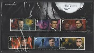 2020  James Bond 007 + Mini Sheet Presentation Pack 583 - Ref:5625