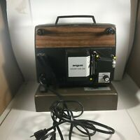 Vintage ARGUS 848 Holiday Dual Super 8 8mm Movie Projector