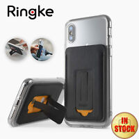 Ringke Multi Card Holder Adhesive Magnetic With Kickstand And Metal Plate