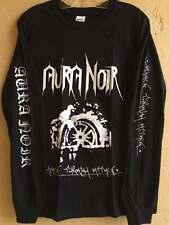 Aura noir long sleeve M shirt Darkthrone Bathory Bulldozer death metal Black