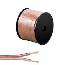 15m Speaker Cable 2X2.5mm Multi strands Premium Quality Oxygen Free  CCA Wire