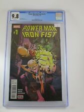 Power Man and Iron fist #1 (Marvel 4/6) CGC 9.8 White