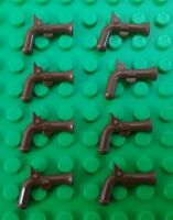 *NEW* Lego Brown Muskets Pistol Guns for Pirate Minifigures Figs - 8 pieces