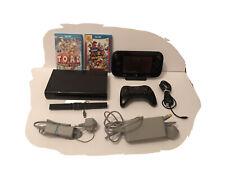 Nintendo Wii U: Console Bundle 32GB - 2 Games - Super Mario & Captain Toad