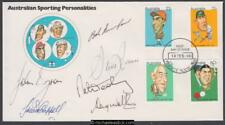 Australia 1981 (Feb) Sporting First Day Cover Signed Australian Test Cricketers