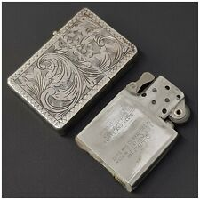 Briquet argent* insert Zippo 2517191 *essence Lighter STERLING SILVER-Feuerzeug