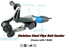 Genuine RAIZI Professional Stainless Steel Pipe Belt Sander 220V Tube Sanding