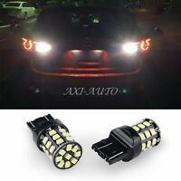 AUXITO 2X 2835 33-SMD 7443 7440 6000K Super White LED Back Up Reverse Light Bulb