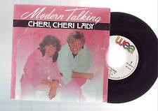 45 tours modern talking - cheri cheri  lady --