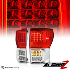 [TRD STYLE] FULL LED Rear SMD Brake Tail Lights For 07-13 Toyota Tundra PickUp
