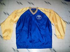 BRAND NEW W/O TAGS BUFFALO SABRES PULLOVER JACKET SIZE L GIII SPORTS ALL SEWN