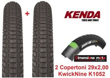 5602 - 2 Copert. KENDA 29x2,00 Kwick Nine Semi/Slick x Bici 29 MTB Mountain Bike