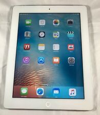 Apple iPad 2nd-Gen 16GB Wifi+ Cellular(Verizon) 9.7in,White,EXCELLENT-A1397 -24