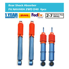 4X Fit Nissan NAVARA 4WD D40 Front Rear Left Right Shock Absorbers 2005-2014