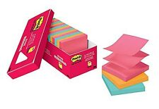 "Post-it Pop-up Notes 3""x3"" Cape Town Collection 18 Pads/Cabinet Pack R330-18CTCP"